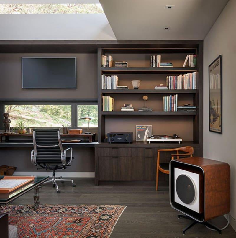 mẫu thiết kế nội thất phòng làm việc độc đáo
