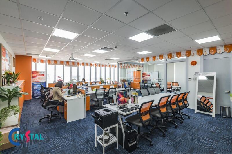 mẫu thiết kế nội thất văn phòng làm việc chuyên nghiệp