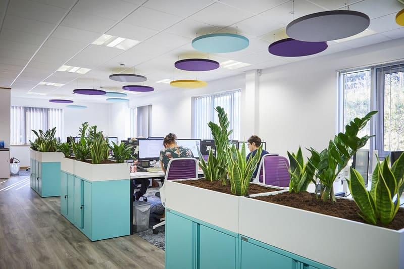 mẫu thiết kế văn phòng hiện đại đẹp