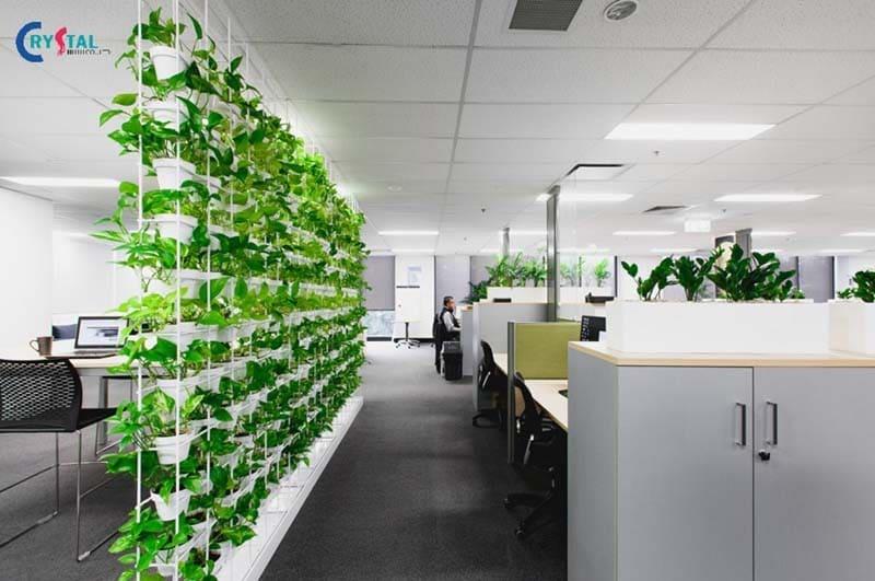 mẫu thiết kế văn phòng làm việc công sở đẹp