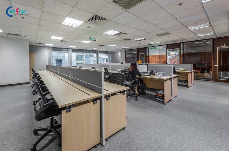 những mẫu thiết kế phòng làm việc công sở