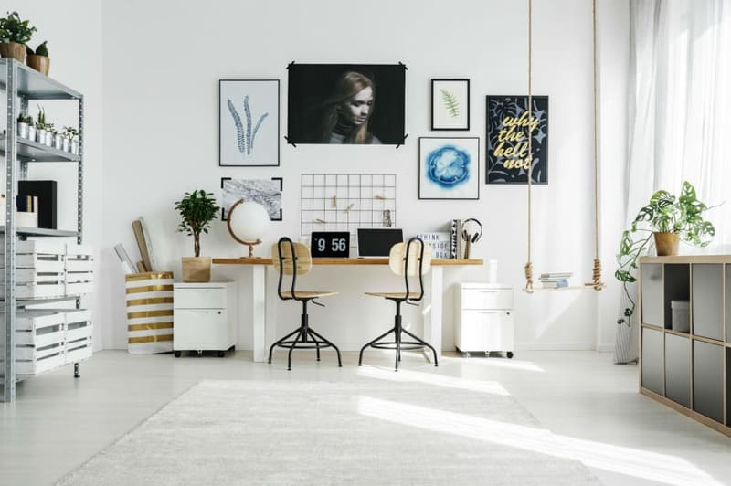 thiết kế nội thất cho phòng làm việc