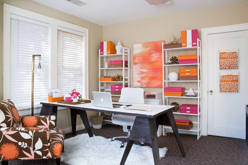trang trí nội thất phòng làm việc tại nhà