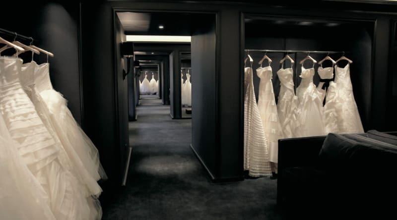 trang trí tiệm áo cưới