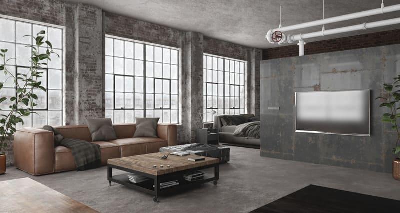 Đồ nội thất làm từ gạch, men hay được dùng để thiết kế nội thất