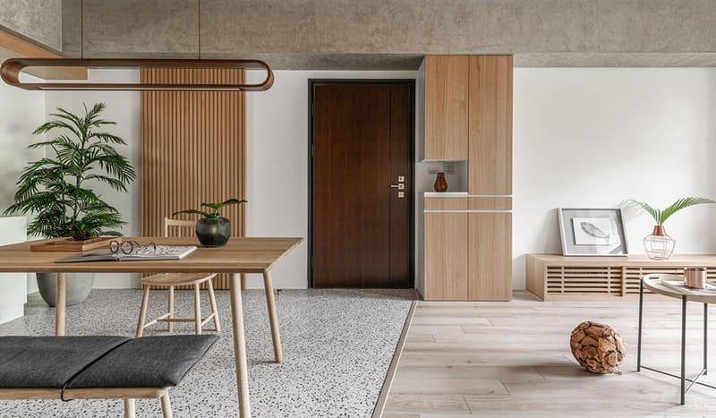 mẫu nội thất gỗ công nghiệp