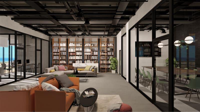 mẫu phong cách thiết kế nội thất văn phòng ấn tượng