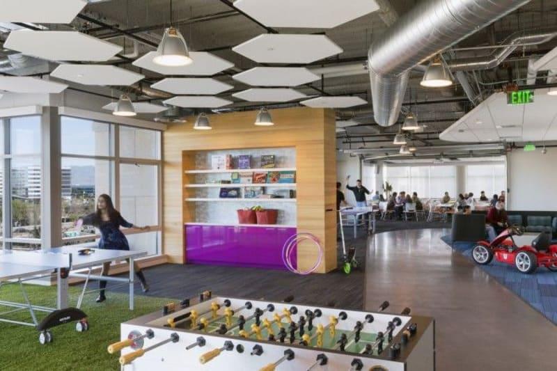 mẫu phong cách thiết kế nội thất văn phòng hiện đại