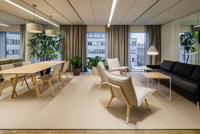 mẫu phong cách thiết kế nội thất văn phòng phổ biến