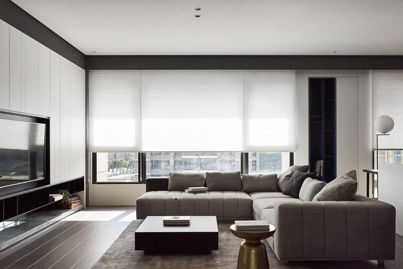 Sự sáng tạo rất được khuyến khích trong nội thất phong cách hiện đại.