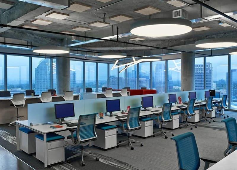 những phong cách thiết kế văn phòng đẹp