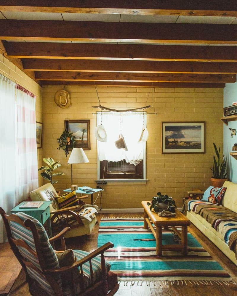 nội thất theo phong vintage và phong cách retro