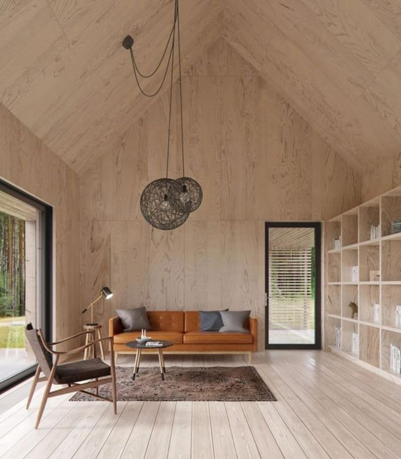 nội thất sử dụng gỗ công nghiệp