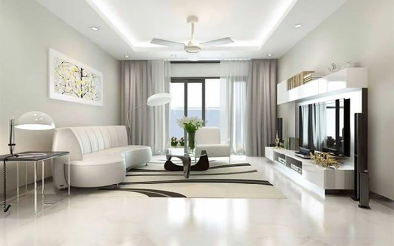 phong cách thiết kế nội thất hiện đại đẳng cấp