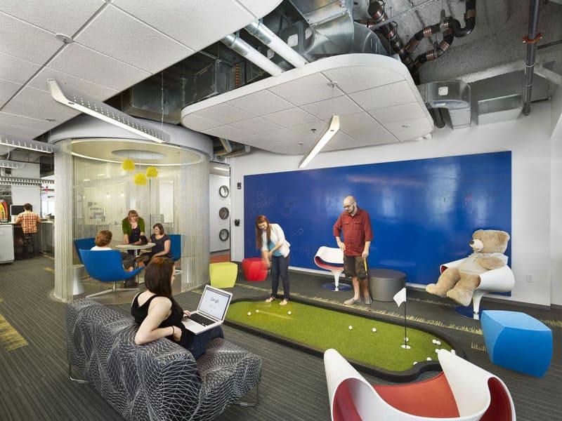 phong cách thiết kế nội thất văn phòng cố điển
