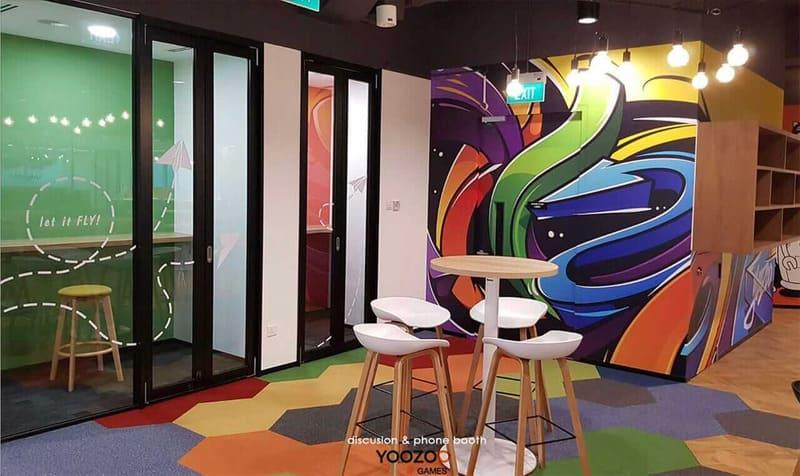 phong cách thiết kế nội thất văn phòng công nghiệp
