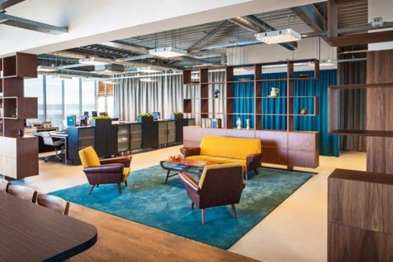 phong cách thiết kế nội thất văn phòng