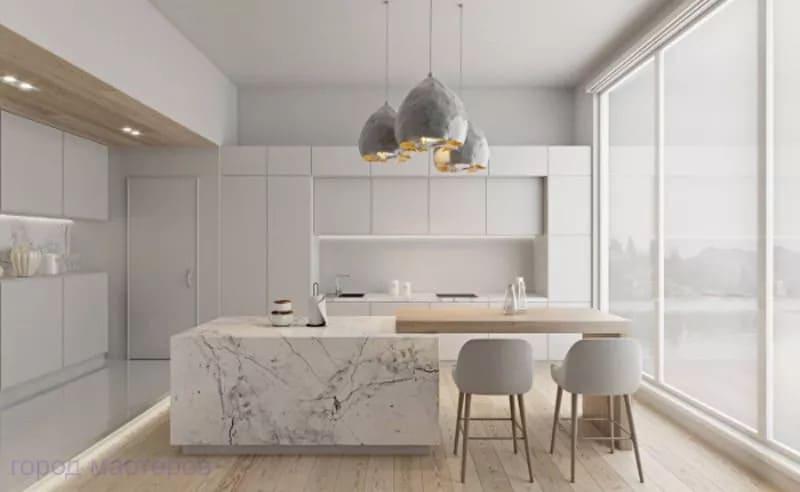 Thiết kế phòng bếp theo phong cách tối giản