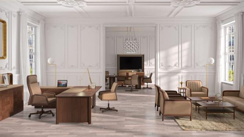 phong cách thiết kế văn phòng sang trọng