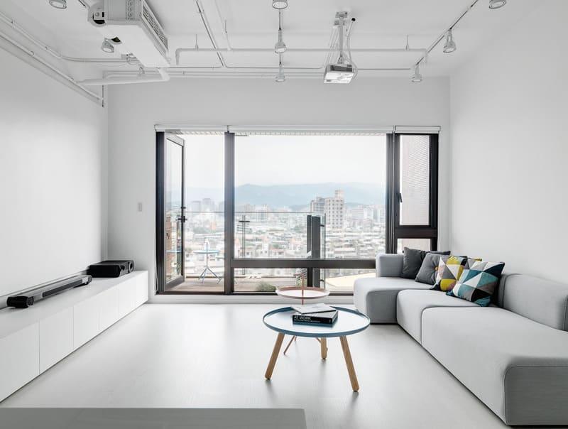 phong cách tối giản trong nội thất