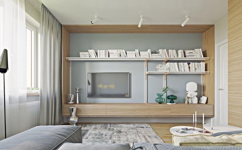 thiết kế nội thất gỗ công nghiệp