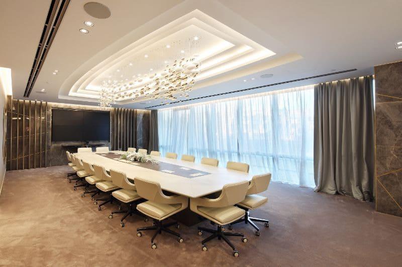 Vẻ sang trọng và quý phái của văn phòng phong cách Luxury