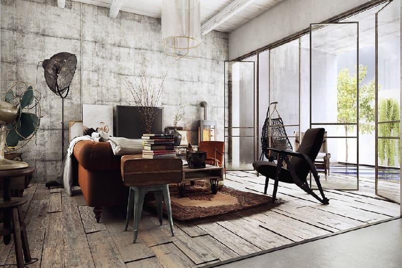 Sử dụng những nội thất có vẻ cổ xưa là đặc điểm của phong cách Vintage